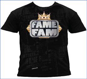 Fame Fam Logo Graphic Tee
